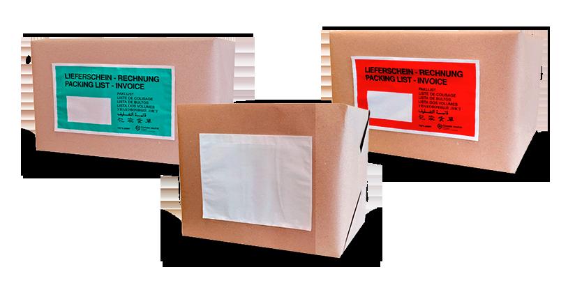 Sobres envío de documentación papel